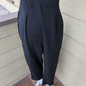 Grade & Gather Pants - Grade & Gather Linen Cami Jumpsuit Size S